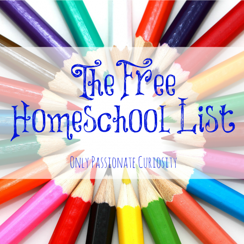 The Free Homeschool List