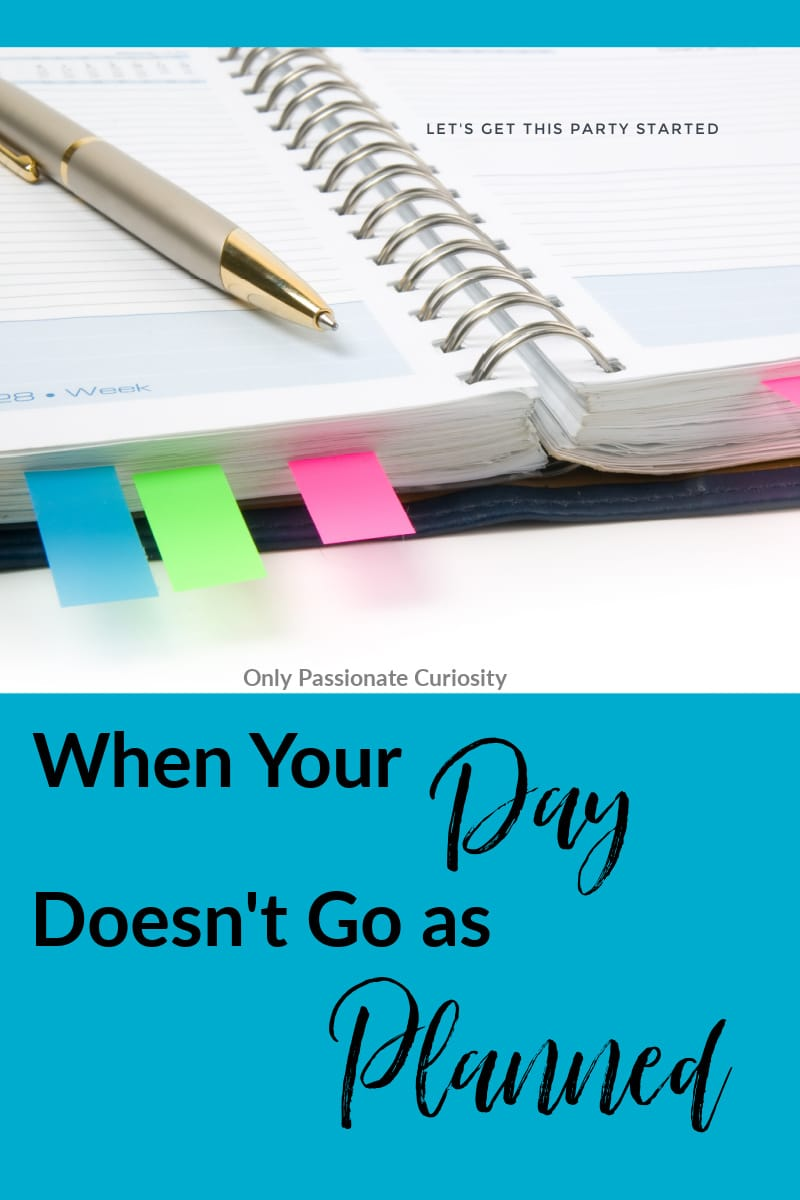 Practical advice for how to deal with homeschool bad days that don't go as planned and with the frustrated feelings that go along with those days!