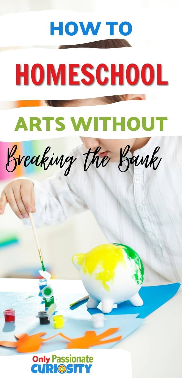 Are you looking for Homeschool Art curriculum but don't want to spend a fortune? See how I teach art on a budget. Free Lesson ideas included!