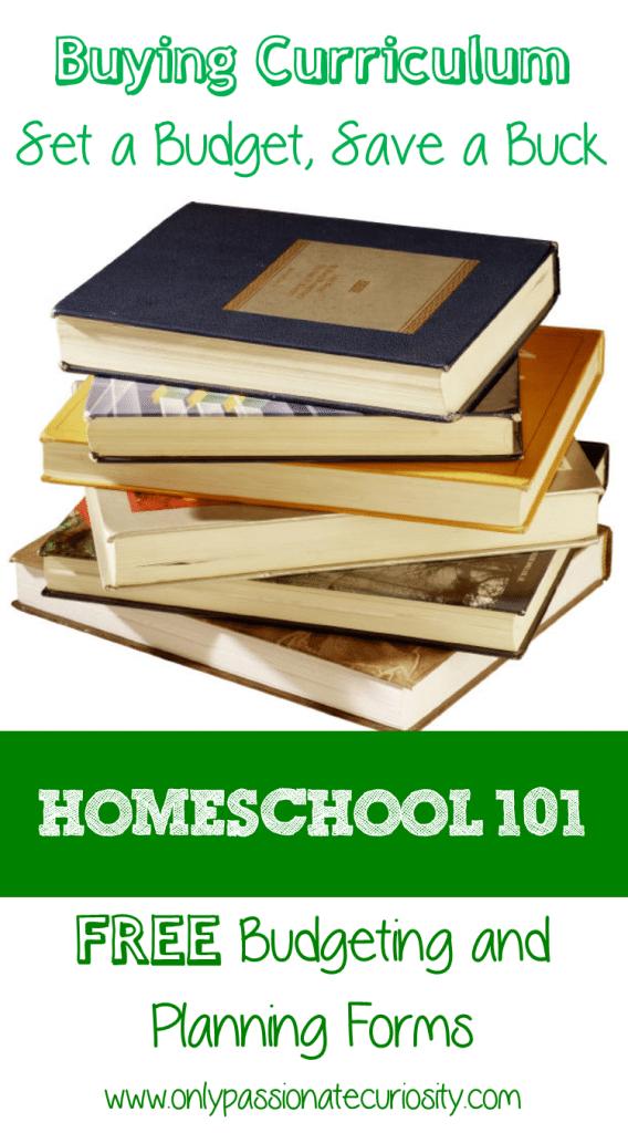 Homeschool 101 Buying Curriculum