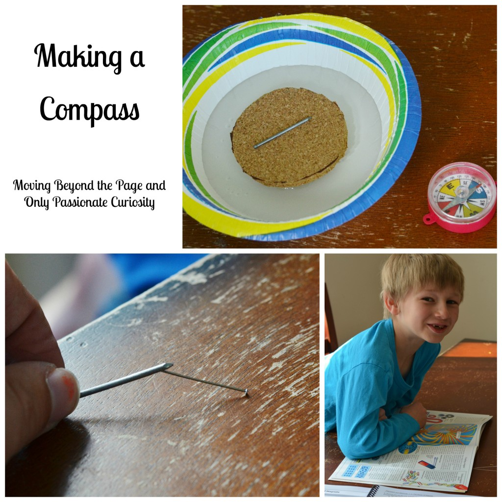 Magnetism and Making a Compass with Moving Beyond the Page