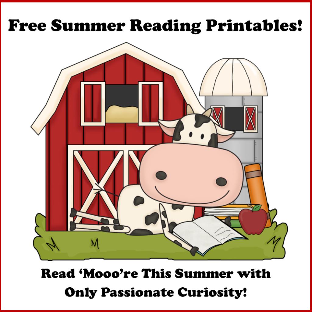 Read Mooore Free Summer Reading Printables
