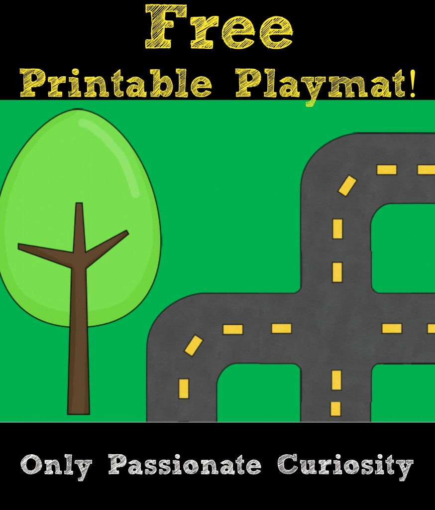 Free Printable Playmat for Kids
