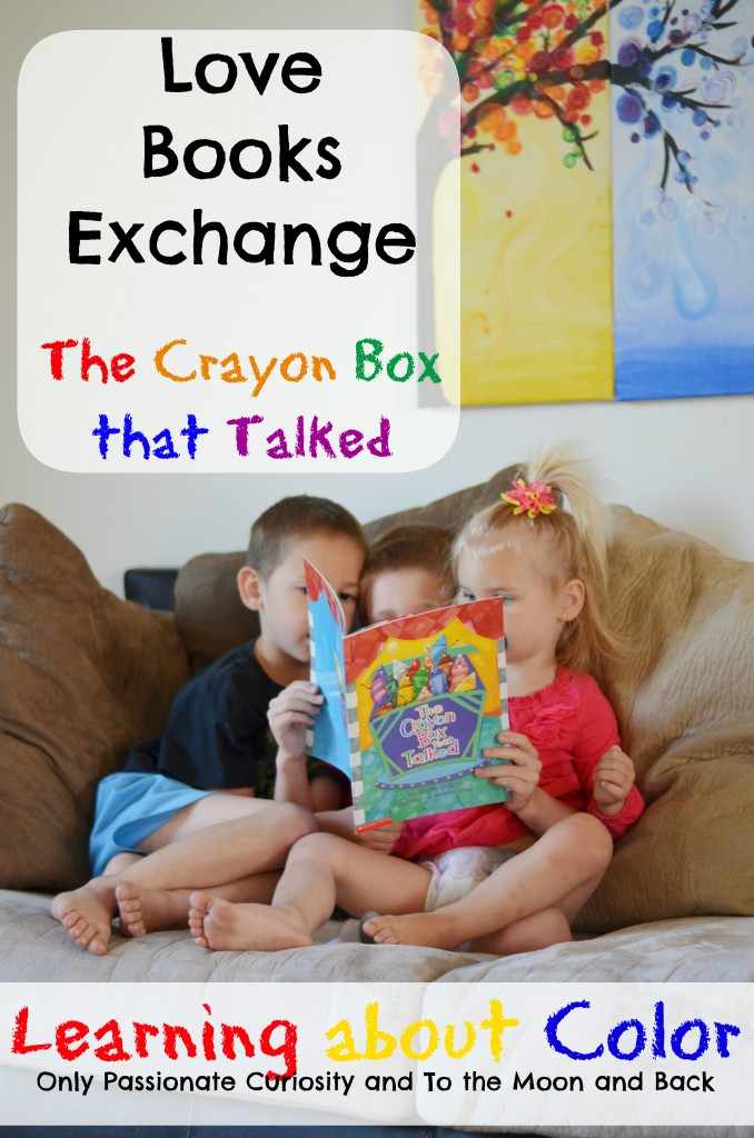 Love Books Exchange- Learning about color