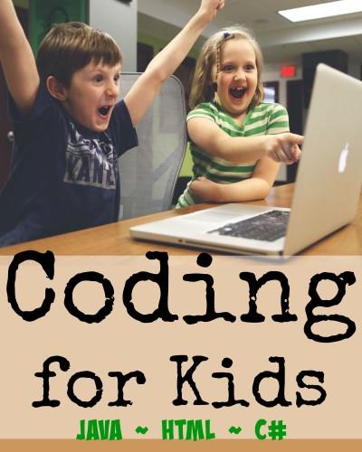 Teaching kids computer coding