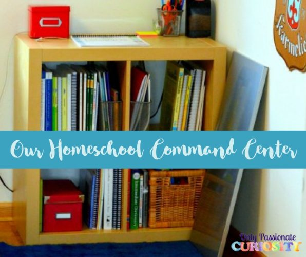 Our Homeschool Command Center