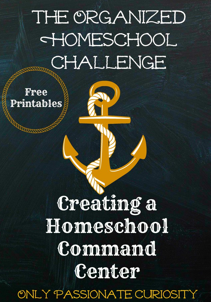 The Organized Homeschool Challenge