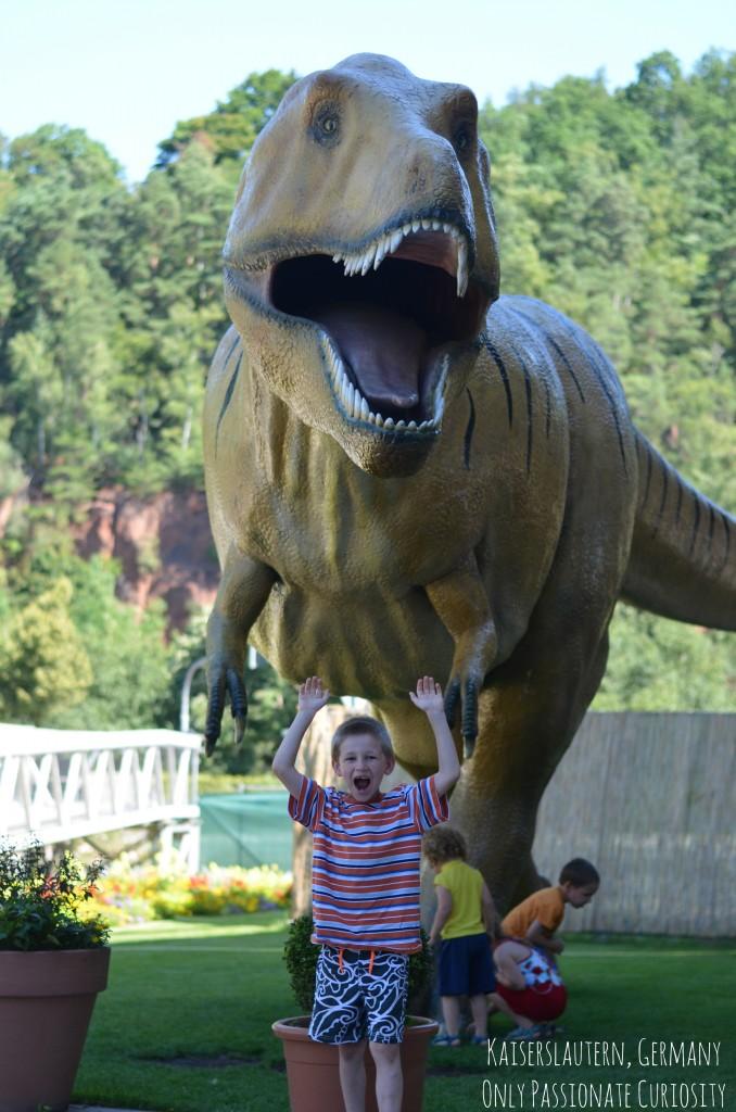 Visiting Dino Park