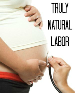 A natural labor story- this is what I want.