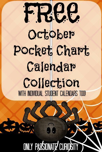 Really cute calendars for elementary students!