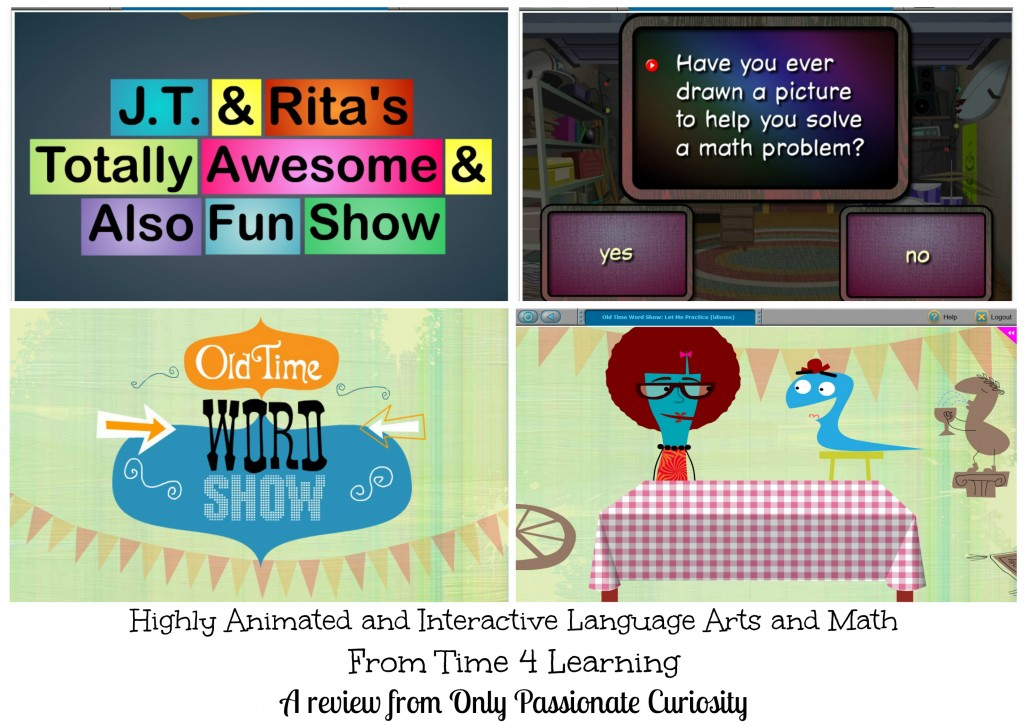 Time 4 Learning has awesome interactive Math and Language Arts Programs