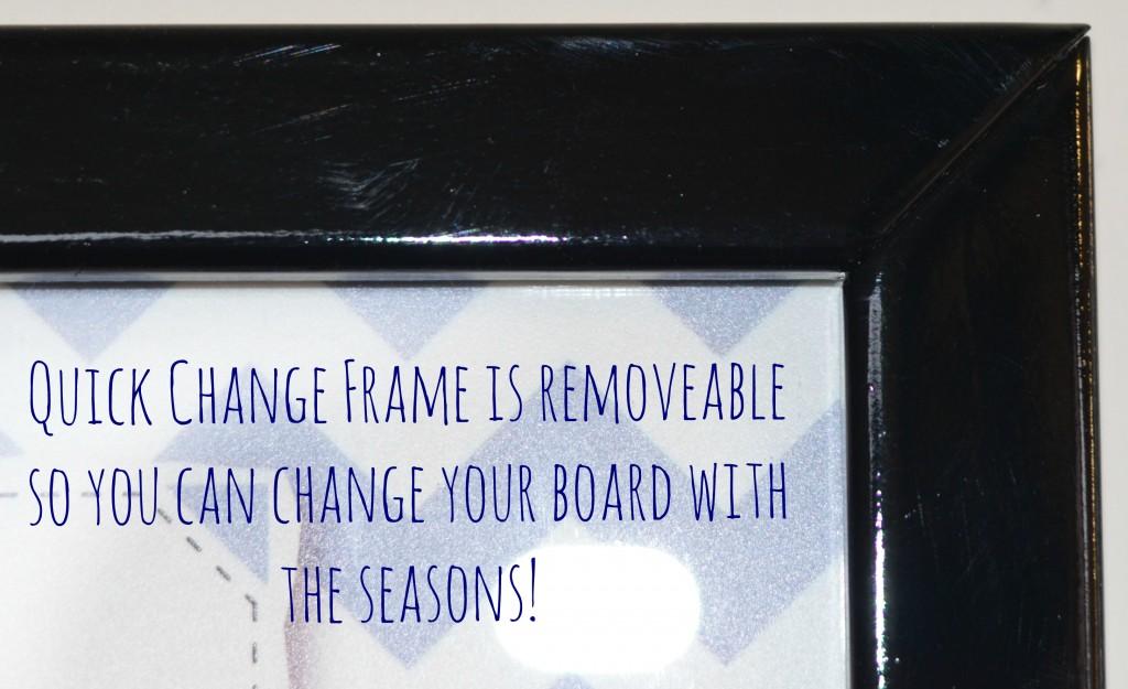 Quick Change Frame