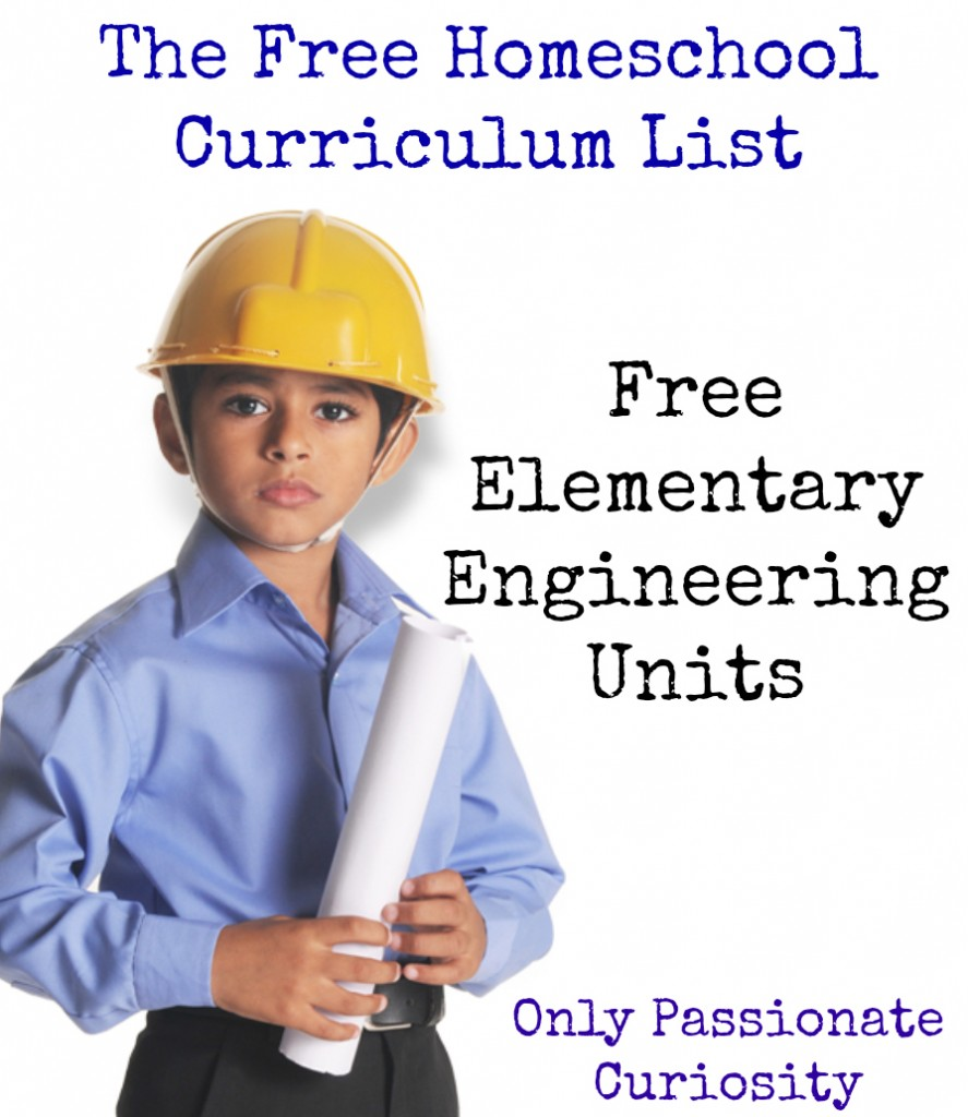 engineering is elementary on Only Passionate Curiosity- The Free List