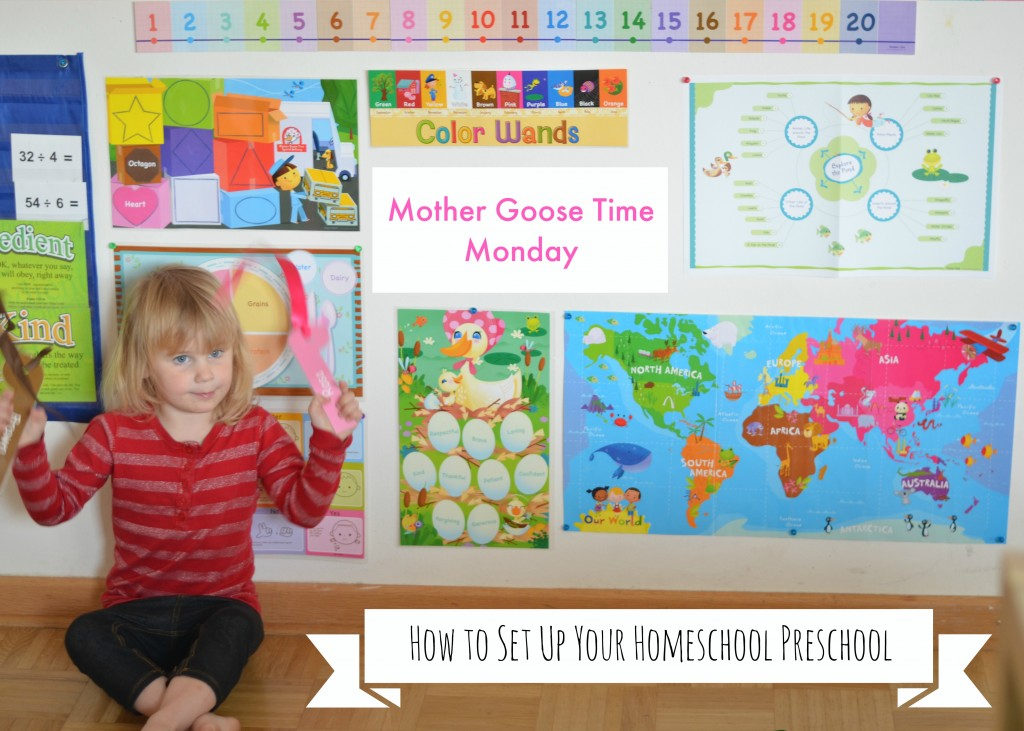 How to set up mother goose time in a homeschool