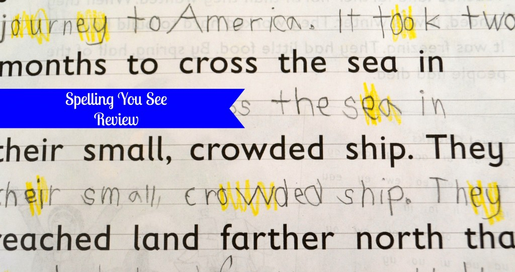 Student Writing- Spelling You See review