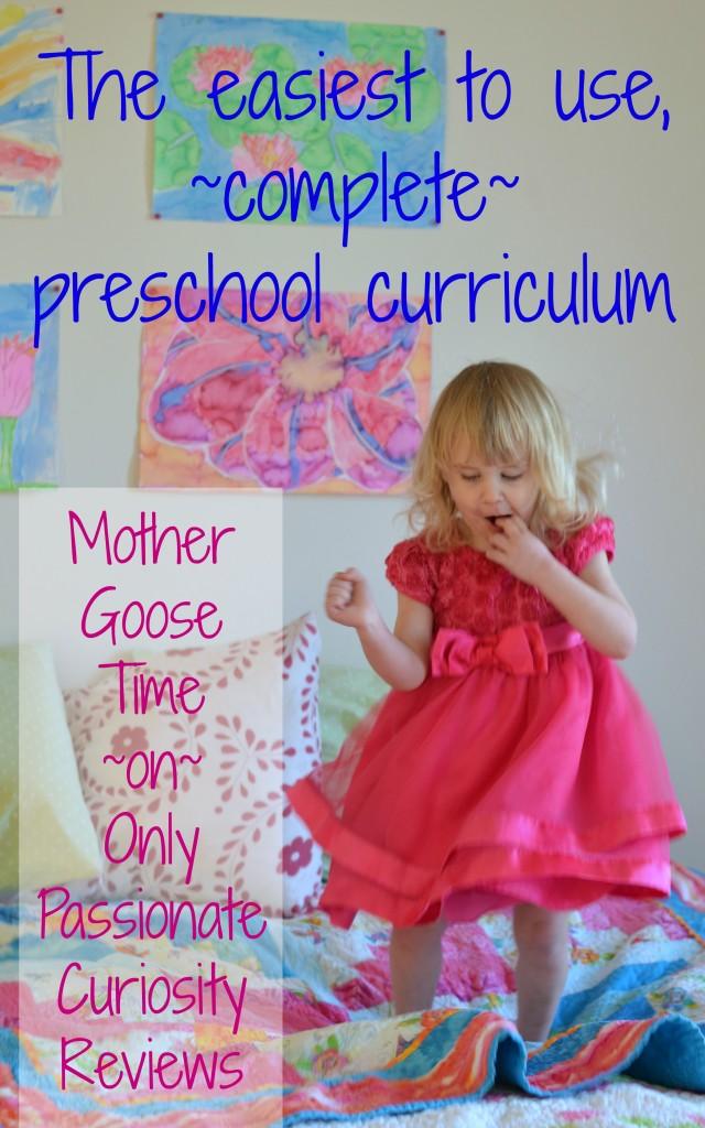 The best preschool curriculum I have seen