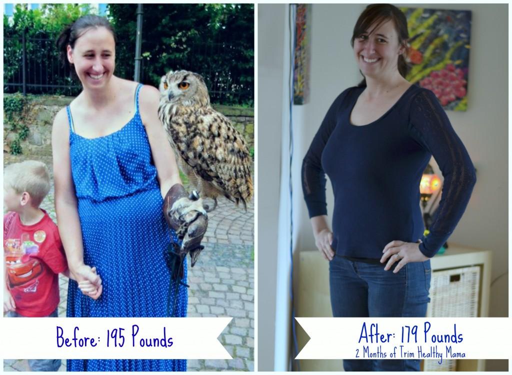 Trim Healthy Mama works fast!