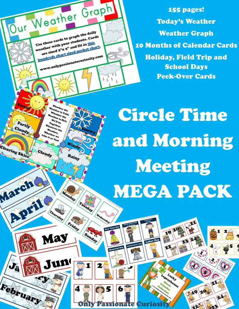 Morning Meeting and Circle Time Mega Pack