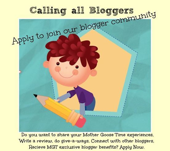 Calling all bloggers MGT