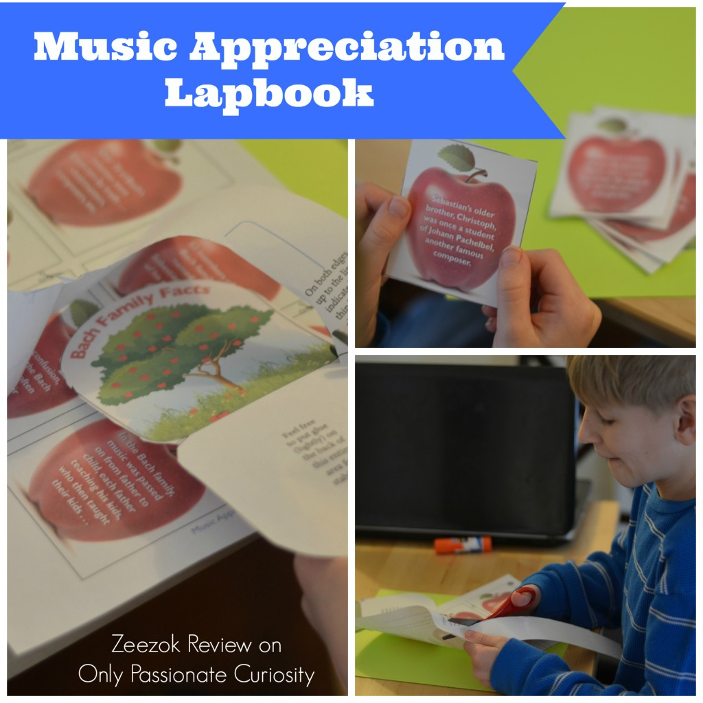 Music Appreciation For Elementary Grades Lapbook