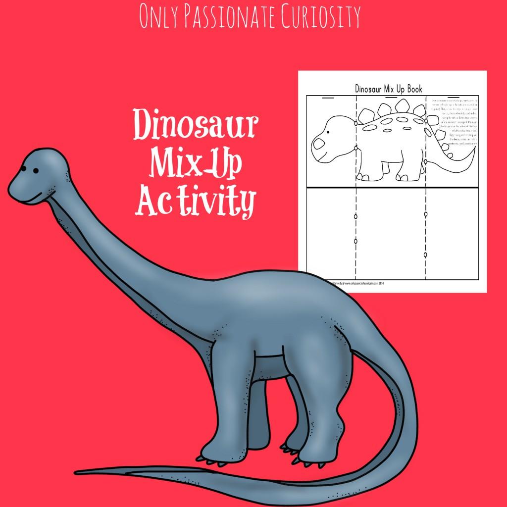 dinosaur mix up book