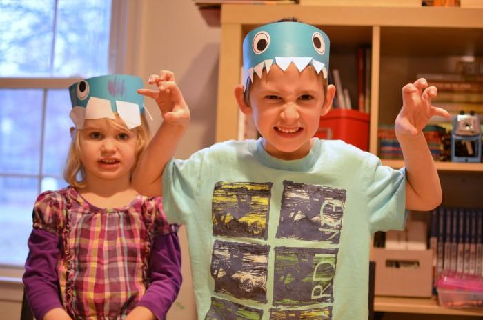 Dino hats