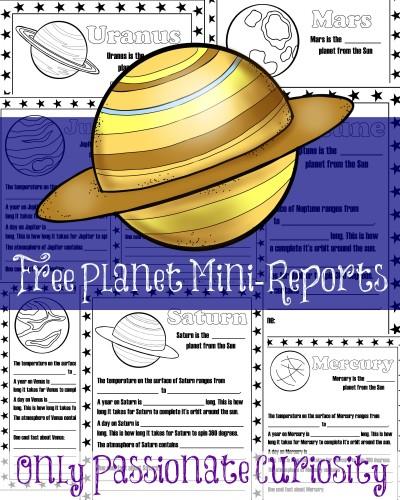 Free Planet Mini-Reports