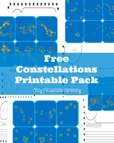Free Printable Pack- Constellations