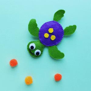 sea turtle stuffed plushie