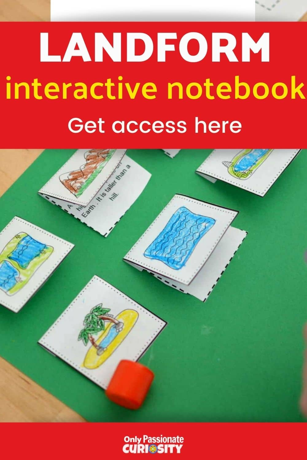 Make your geography more fun with the Hands-on Geography Landform Interactive Notebook pack. This Landforms Interactive Notebook has a couple of different elements: Landforms Visual Dictionary, Mapping the Landforms of the United States, Interactive Notebook Elements