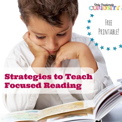 Teach Focused Reading