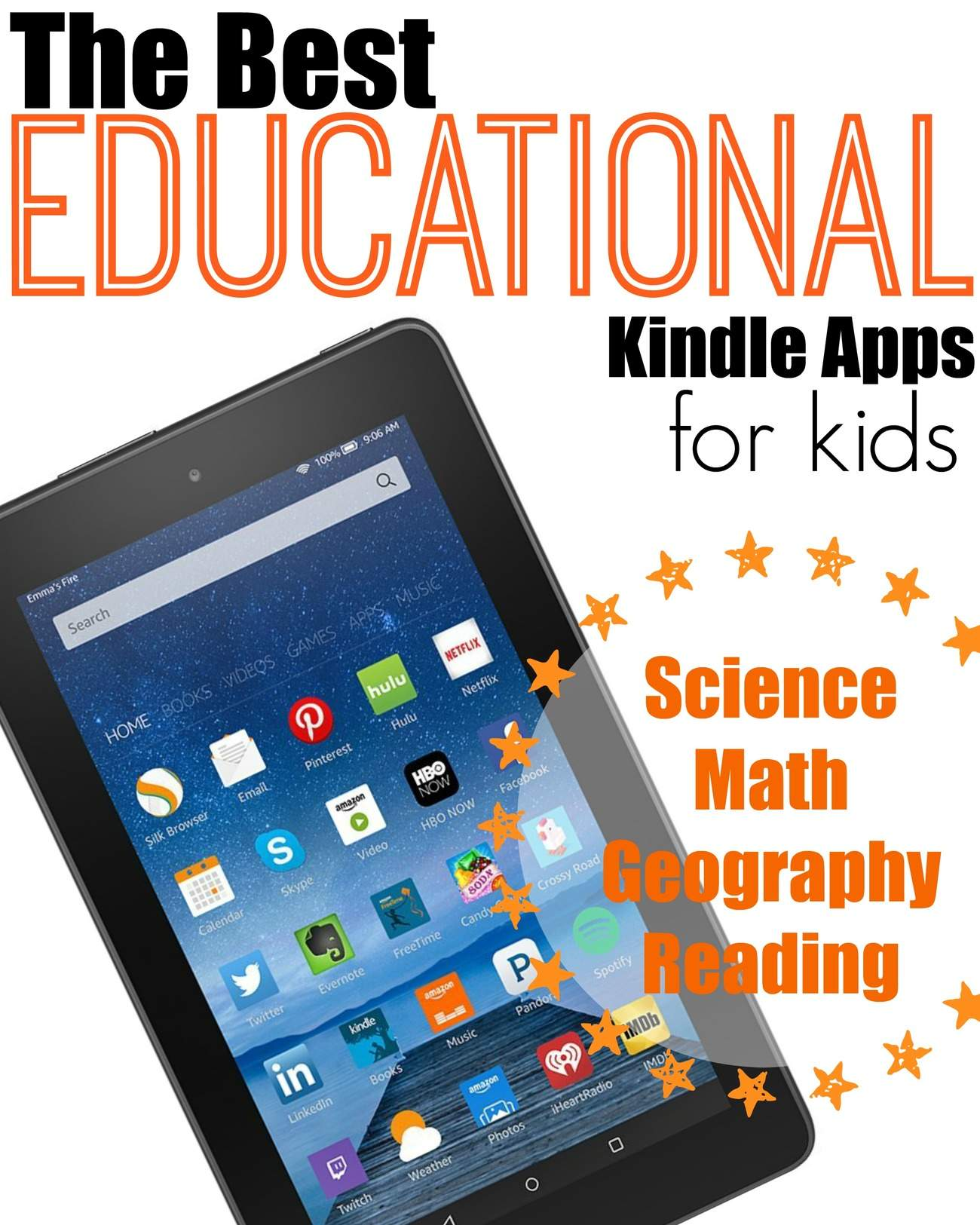 Kids Kindle Fire Games - 10 Best Kindle Fire Games for Kids