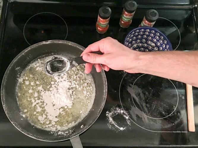 Nacho Cheese Cooking