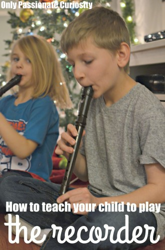 play the recorder