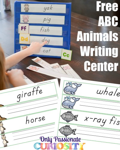 ABC Animals Read and Write