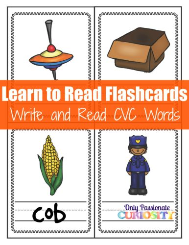 Letter O CVC Read and Write Flashcards_Page_3