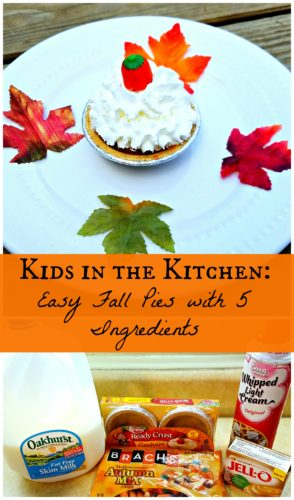 Kids in the Kitchen: Easy Fall Pies