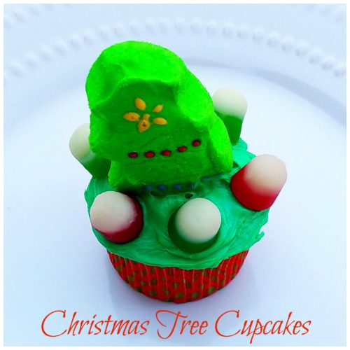 Kids in the Kitchen: Fast & Easy Christmas Tree Cupcakes