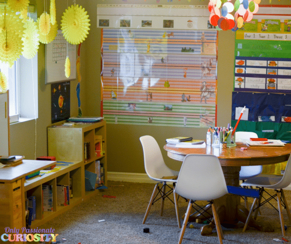 Homeschool Room Tour Organization Ideas Only Passionate Curiosity