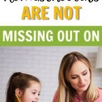 Gain some perspective by checking out this list of all the things you are NOT missing out on as a homeschool family.You will still experience common public school routines in different ways. #Homeschool #Parenting