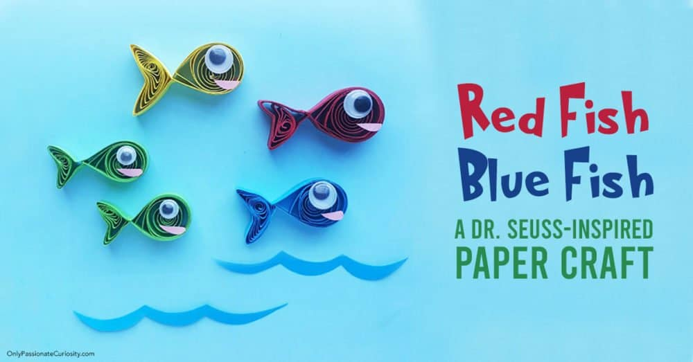 Red Fish Blue Fish craft