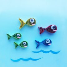 Red Fish Blue Fish craft