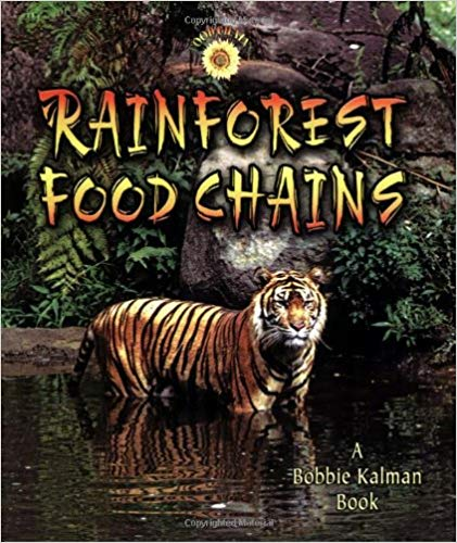 Rainforest Food Chains book cover