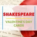 What could be more fun to give to your literature-loving sweetheart than these Shakespeare Valentine's Day cards?! Add a note to make them extra special!