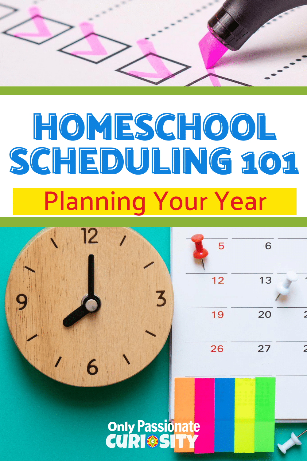 Homeschool Scheduling 101, is designed to help you get your scheduling done quickly and efficiently--so you can plan your year ahead. #Homeschool #Timemanagement #Planning