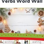 Not going traditional learning during the Christmas season? Use this packet to include some fun and educational verb activities into your holiday festivities!