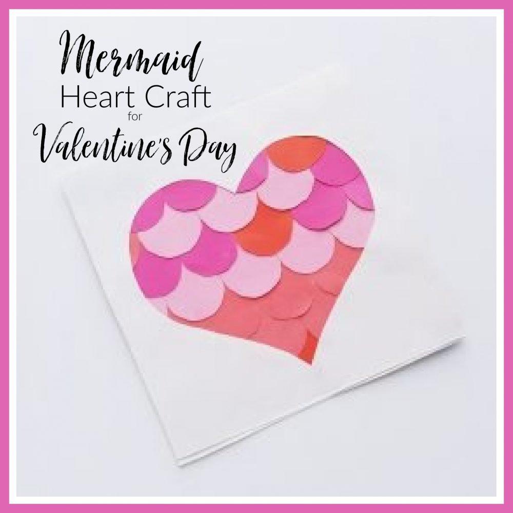 mermaid heart craft