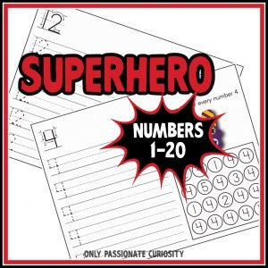 Super Hero Numbers