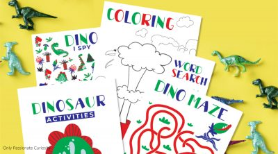 dinosaur activity pages