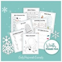 winter printable pack